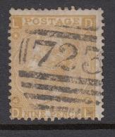 Gran Bretaña 1867/69, Yvert 35- Usado - Used Stamps