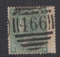 Gran Bretaña 1867/69, Yvert 37- Plancha 7 Usado - Used Stamps