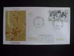 TAAF. 1994. Copepodes, FDC/ETB (G1870) - FDC