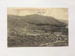 AK   ALBANIA   VUE DE LA FORTERESSE DE TARABOSH A SCUTARI   1913. - Albanie
