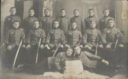 Soldaten-Portrait Mit Säbel Der K. U. K. Armee Österreich-Ungarn, Foto-Postkarte, Militär - Uniformi