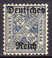 DR Dienstmarken 1920, Mi D 60 * [060316VIII] - Officials