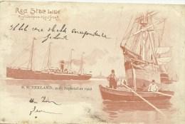 Red Star Line Antwerpen New York  SS Zeeland 20th September 1902   (3137) - Antwerpen