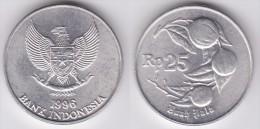 INDONESIA    25   Rupias 1.996  Aluminio   KM#55   SC/UNC    T-DL-11.646 - Indonésie