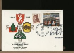 USA - BATTLE BATTAGLIA MONTE CASSINO - ABBAZIA MONTECASSINO - CINDERELLA - POLISH ARMY - ORCHARD LAKE - WO2