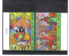 GEO298  UNO WIEN 2008  MICHL 548/49 ARMUT BEENDEN ** Postfrisch Siehe ABBILDUNG - Wien - Internationales Zentrum