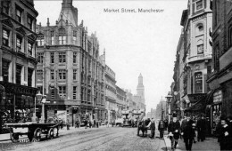 MARKET  STREET    MANCHESTER      (NUOVA) - Manchester