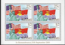 KIRIBATI, 2002 REMEMBERANCE MINISHEET MNH - Kiribati (1979-...)
