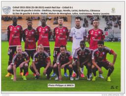 FOOTBALL CP  EQUIPE DU  US  CRETEIL    2015/16 - Voetbal
