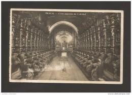 BRAGA CORO SUPERIOR DA CATEDRAL  PORTUGAL  1910years  MINHO POSTCARD CARTE POSTALE - Braga
