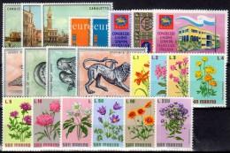 SAN MARINO - 1971 - Complete Year - ANNATA COMPLETA - NUOVI - MNH - Annate Complete