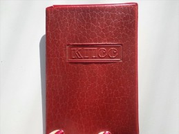 USSR Soviet Communist ID Card PLASTIC COVER - 1970s - Historische Documenten