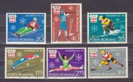 1976  J.O. D HIVER A INNSBRUCK    Mi No 3312/3317 Et YV= 2937/2942 - 1948-.... Repúblicas