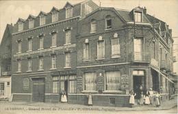 76 - Le Tréport - Seine Maritime - Grand Hôtel De Picardie P. Colson - Animée - Voir Scans - Le Treport