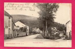 88 VOSGES POUXEUX, Faubourg D'Epinal, Animée, 1918, (Olivier, Pouxeux) - Pouxeux Eloyes