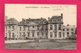 93 SEINE-SAINT-DENIS MONTFERMEIL, Le Château, Les Bueaux,  Animée, 1916,  (P. Avice, Le Raincy) - Montfermeil