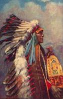 « Indian Chiefs » - Ed. R. Tuck & Sons (OILFASIM) (1926) - Indiens De L'Amerique Du Nord