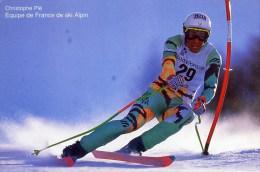 1992 Christophe PIE Equipe De France De Ski Alpin - Sports D'hiver
