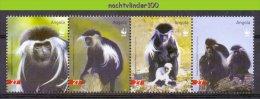 Ncw359s WWF FAUNA AAP APEN ZOOGDIEREN COLOBO BRANCO E PRETO GUEREZA MONKEYS MAMMALS APES AFFEN SINGES ANGOLA 2004 PF/MNH - W.W.F.
