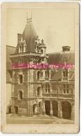 CDV En 1871-chateau De Blois-partie Louis XII--photographie Mieusement à Blois - Photos