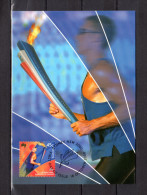 """AUSTRALIE 2000 : Carte Maximum """" JEUX PARALYMPIC DE SYDNEY 2000 """" Parfait état. CM - Sommer 2000: Sydney - Paralympics"""