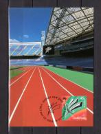 """AUSTRALIE 2000 : Carte Maximum """" JEUX PARALYMPIC DE SYDNEY 2000 """" Parfait état. CM - Summer 2000: Sydney - Paralympic"""