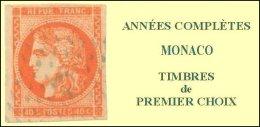 Monaco, Année Complète 1991, N° 1753 à N° 1809** Y Et T - Mónaco