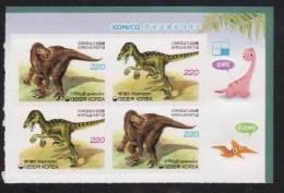 Coree Du Sud 2006 - Animaux Prehistoriques 4v.neufs** - Corée Du Sud