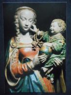 """IMAGE Pieuse -COMMUNION """"Estelle - 1984"""" Vierge De Bellegarde - Abbaye D'En Calcat - Religion & Esotérisme"""