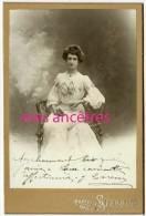 Cabinet- Très Jolie Femme Mode J. CARESSA Photo Professeur Stebbing à Paris-photographe D'artistes - Anciennes (Av. 1900)