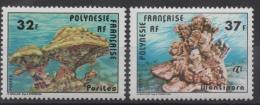 POLYNESIE - YT N° 130-131 - Neuf ** - MNH - Cote: 6,20 € - Ungebraucht