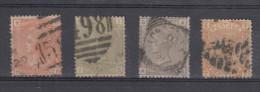 Gran Bretaña 1876-1880 Yvert 58/61 Usado - Used Stamps