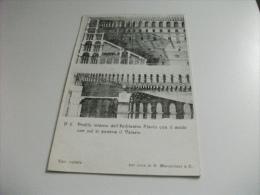 PICCOLO FORMATO PROFILO INTERNO DELL'ANFITEATRO FLAVIO CON IL MODO CON CUI PONEVA IL VELARIO - Colosseo