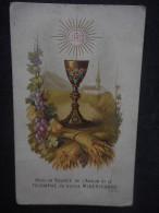"""IMAGE Pieuse Ancienne """"Voici La Source De L'amour"""" - Au Dos CHOCOLAT DU FOYER - Edmond LEFEVRE"""" - Religion & Esotericism"""