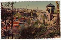 LUXEMBOURG - La Vielle Ville, Gel.1947? - Ansichtskarten