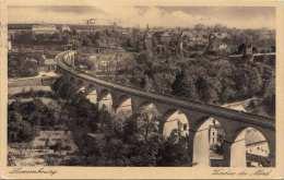 LUXEMBOURG - Viaduc Du Nord, Gel.1939, 2 Fach Frankiert - Luxemburg - Stadt