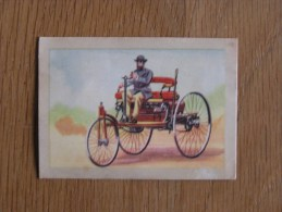 BENZ Chromo N° 3 Rétrospective De L´ Automobile Auto Chocolat Jacques Eupen Trading Card Chromos Vignette - Jacques