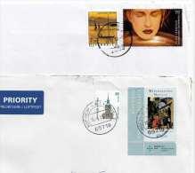 ÖSTERREICH/DEUTSCHLAND - 2 Briefe Mit Schöner MIF - Sonstige - Europa