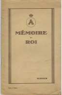 Rudiger [ps. Armand Wullus], Mémoire Au Roi Sur Les Dangers De La Réhabilitation De L'activisme - Guerra 1914-18