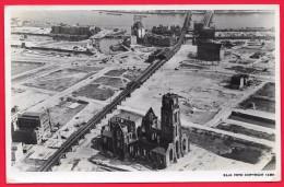 ROTTERDAM  1946 - ST. LAURENSKERK MET OMGEVING - GUERRA 1939 -1945 - MILITARIA - Guerre 1939-45