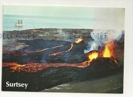 Islande. Volcan. The Surtsey Eruption 1963 - Islande