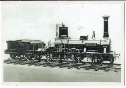 Carte 18 - L'éléphant,l'une Des Trois Locomotives Du Premierdu Continent En Mai 1835 Entre Bruxelles Et Malines - Other