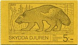 N° Yvert & Tellier C796 - Carnet De Timbres De Suède (1973) - MNH - Protection De La Faune (JS) - 1951-80