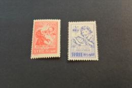 F6723- Set MNH Syria- 1956- SC. C228-229- Mother's Day - Syria