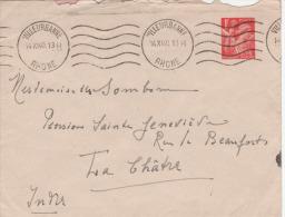 Entier Postal 1F Iris - WW II