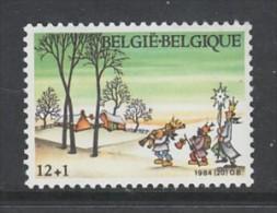 TIMBRE NEUF DE BELGIQUE - EVOCATION DE LA FETE DE L´EPIPHANIE N° Y&T 2155 - Feste