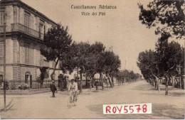 Abruzzo-pescara Castellamare Adriatico Veduta Viale Dei Pini  Animata - Pescara