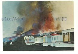 Islande. Volcan. Gosio A Heimaey. Vestmannaeyjar. 1973 - Islande