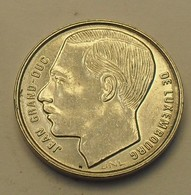 1990 - Luxembourg - 1 FRANC, IML, Jean, KM 63 - Luxemburg