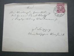1880 , BRESLAU    Klarer Stempel Auf  Beleg - Deutschland